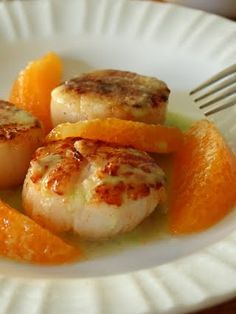 Food Wishes Video Recipes: Seared Scallops with Orange Supremes and Jalapeno Vinaigrette – Styling and Flavor Profiling