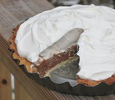 Copycat Baker's Square French Silk Pie - No one makes pie like Baker's Square--except for maybe you, after trying this Copycat Baker's Square French Silk Pie recipe. With gourmet restaurant recipes li (Chocolate Pie French Silk)