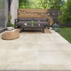 stone flooring Strong beige stone exterior floor tiles Monastery x cm Smart Garden, Home And Garden, Outdoor Tiles, Outdoor Decor, Terrace Floor, Garden Paving, Swimming Pool Designs, Wall And Floor Tiles, Stone Flooring