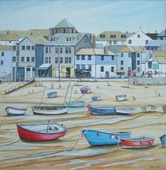 St.Ives Seafront by Demi Lang