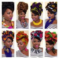 Beauty is what beauty does. Find Pre made Head Wraps, Jewelry, & Accessories at www.crownedinroyalty.com