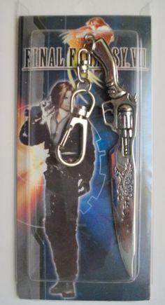 "4"" Final Fantasy VIII 8 Metal Key Chain ~Cosplay~"