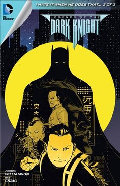 ✭ Batman Legends of the Dark Knight #38 by Joshua Williamson/Wes Craig