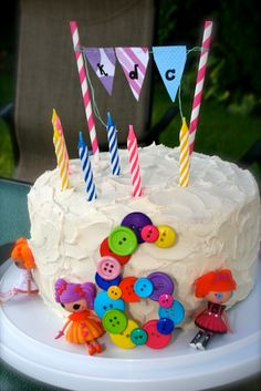"""Lalaloopsy cake for Kirsten's 6th Birthday - """"Sew"""" Much Fun"""