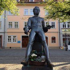 Der junge Bach. #Arnstadt #oomentour2015