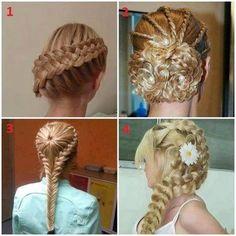 _ Fire flotte hår opsætninger!