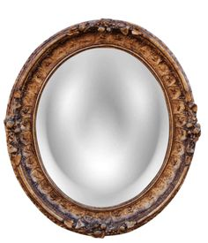 Bestow a Parisian effect on the wall of your choice with the Hickory Manor House Round Paris Wall Mirror - x in. This oval wall mirror's.