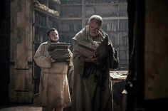 Game of Thrones Sam and The Maester in the Citadel
