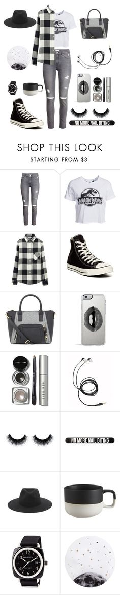 """Untitled #135"" by ailsahuerta ❤ liked on Polyvore featuring H&M, New Look, Uniqlo, Converse, Lipsy, Bobbi Brown Cosmetics, Bershka, rag & bone, CB2 and Briston"