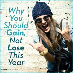 When you focus on losing weight, you might focus only on the negative. Why not focus on what you stand to gain instead?