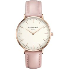 Classic Rosefield Watch Pink