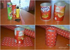 DIY: Pen Organizer (Using Pringles Cans) - AKA CHYMECINDY