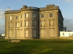 Alannah's visit to Loftus Hall - The Most Haunted House in Ireland! - Loftus Hall is a large mansion house on the Hook peninsula, County Wexford, Ireland that is said to have been haunted by the devil and by the ghost of a young woman.