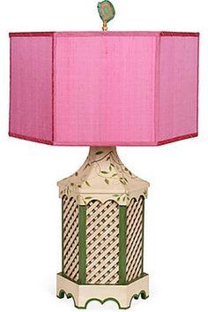 lampshade by Hillary Thomas