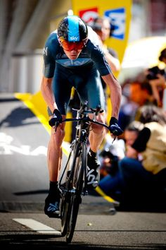 Chris Froome - Prologue - with Wiggins injured, he will be the lead rider for Skye in 2013