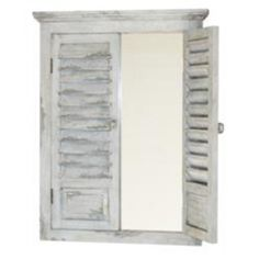 Shuttered Mirror, French Country Collection
