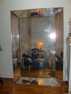 Mirror mirror on pinterest wall mirrors vintage for Mirror 40 x 60
