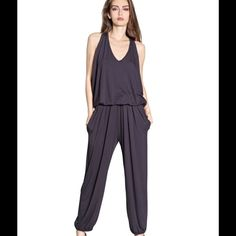 Jumpsuit Amazing jumpsuit by Koran designer Kai-aakmann made in Italy. Never worn and brand new. 95% viscose 5 % elastin. The size is medium-large. Kai-aakmann Pants Jumpsuits & Rompers