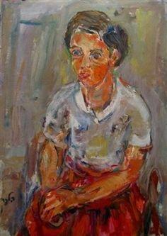 Painted by Elchanan Halpern