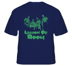 The Legion Of Boom Seattle Football T Shirt