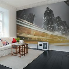 Photo mural of Speed of Light Interior - #Wall Murals #Rebel Walls. View these fantastic Digitally printed high definition wall murals by following the link - http://thebestwallpaperplace.uk.rw.nu/