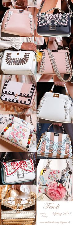Brilliant Luxury♦Fendi Candy Colours Spring 2017