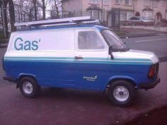 Ford Transit 'British Gas' - Under Glass: Pickups . 1970s Childhood, My Childhood Memories, Ford Transit, Commercial Vehicle, Teenage Years, Cool Ideas, My Memory, The Good Old Days, My Children