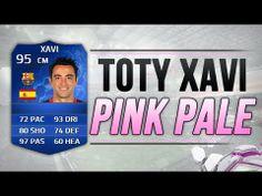 FIFA 14 UT TOTY 95 XAVI PINK PALE | FIFA 14 TEAM OF THE YEAR XAVI PINK S...