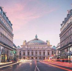Palais Garnier, l'Opéra de Paris.
