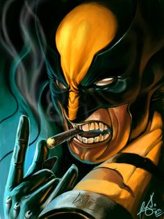 wolverine rock en roll by wizyakuza on DeviantArt Wolverine Art, Logan Wolverine, Marvel Entertainment, Marvel Characters, Marvel Heroes, Comic Book Characters, Marvel Dc Comics, Anime Comics, Marvel Comic Universe