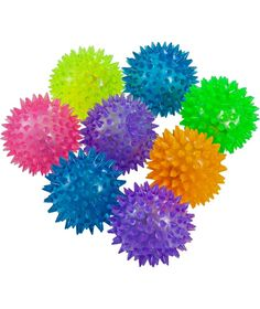Buy Flashing Spike Balls Party Fillers - Pack of 8 at Argos.co.uk - Your Online Shop for Party bags, fillers and games.