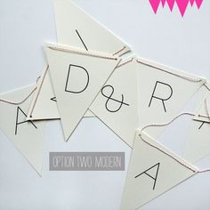 How To: Free Downloadable Wedding Banner From A Printable Press
