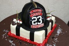 Firefighting Grooms Cake by Elegant Cheese Cakes, via Flickr