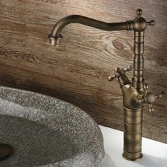 Chester Classic Style Double Handle Vessel Faucet