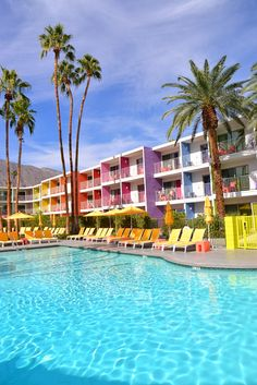 Intimate Weddings at Saguaro Palm Springs - The Saguaro Pool Palm Springs Tram, Palm Springs Resorts, Parker Palm Springs, Palm Springs Style, Hotels And Resorts, Luxury Hotels, Reasons To Get Married, Places To Get Married, Got Married