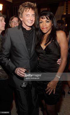 Barry Manilow and backup singer Sharon Hendricks.