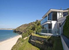 5 bedroom house for sale in Carbis Bay, St. New Homes For Sale, Property For Sale, 5 Bedroom House, Cornwall, Beach House, Coastal, House Design, Mansions, House Styles