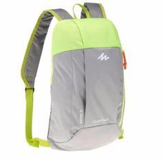 1c84357b86e Quechua กระเป๋าเป้จักรยาน เดินป่า รุ่น ARPENAZ 10L (สีเทา/เขียว). Small  BookbagsOutdoor BackpacksCool ...