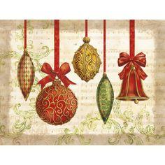 Boxed Christmas Card - Ornaments