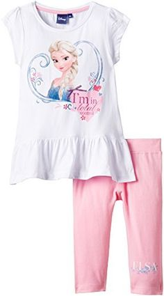 Disney Girl's Frozen Clothing Set