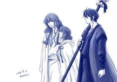 Akatsuki no yona/yona of the dawn  Hak,yona, hiryuu
