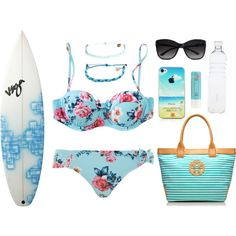 """Beach™"" by livelife2risks on Polyvore"