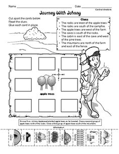 Worksheet Intermediate Directions Worksheet student the ojays and following directions on pinterest social studies worksheet cardinal journey with johnny