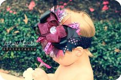 black and pink baby bow... would LOVE this!:)