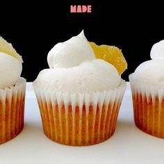 Cupcake allo zenzero MADE #Cupcakes #zenzero #ginger #estate