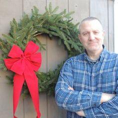 Rustic Christmas, Simple Christmas, Handmade Christmas, Christmas Ideas, Xmas Wreaths, Christmas Decorations, Twine Wreath, Holiday Crafts, Holiday Decor