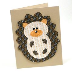 This little paper craft template is a great item to have on hand for those times when you need a quick handmade card, or want to embellish a gift with a crafty tag.  Each of the individual el...