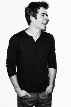 Image result for dylan o'brien black and white