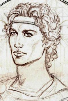 Feanor sketch by Marta Aguado