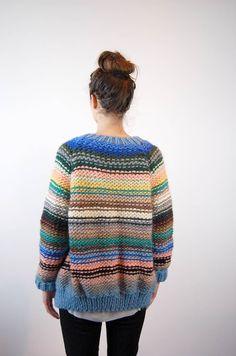 o u t f i t s Makeup Ideas makeup ideas school Vogue Knitting, Hand Knitting, Knitting Machine, Chunky Knit Yarn, Cable Knit, Big Knits, Vintage Knitting, Vintage Crochet, Knit Fashion